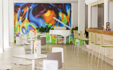 coffee shop eix alcudia hotel