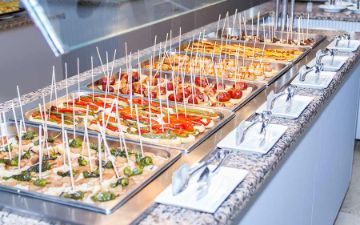 Buffet Restaurant Eix Alzinar Mar Suites - Adults Only